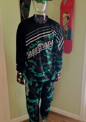 Kawi Camo Jersey/Pants