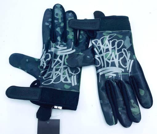 Silence is Golden MX Glove by Brapp Straps