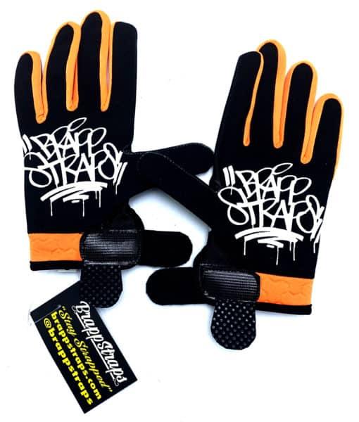 Orange Stab MX Glove by Brapp Straps