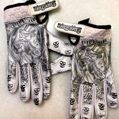 Put Up or Shut Up MX Gloves by BrappStraps